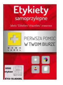 ETYKIETA SAMOPRZYLEPNA A4 (ML) 38x21,2 /65/A4/