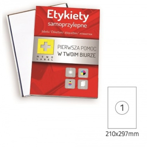 ETYKIETA SAMOPRZYLEPNA A4 (ML) 210x297 /1/A4/