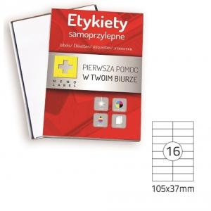 ETYKIETA SAMOPRZYLEPNA A4 (ML) 105x37 /16/A4/